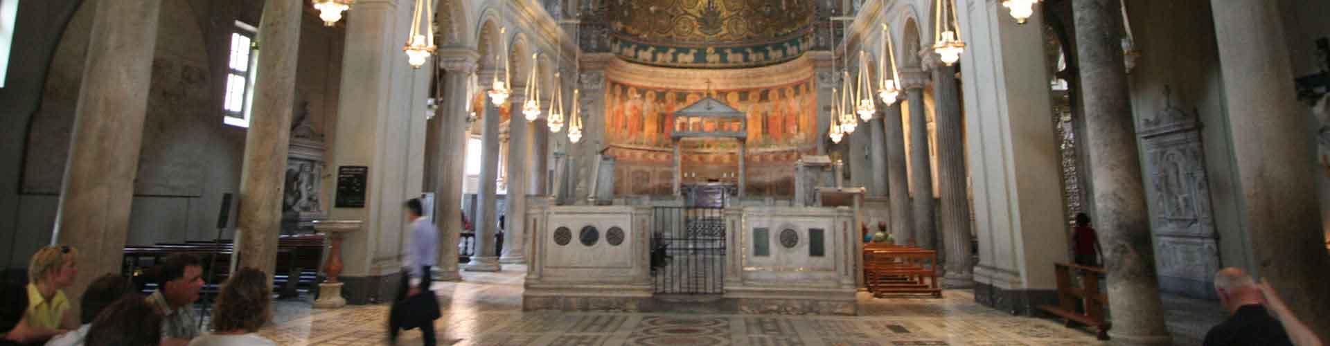 Rome - Auberges de jeunesse près de Basilica di San Clemente. Cartes pour Rome, photos et commentaires pour chaque auberge de jeunesse à Rome.