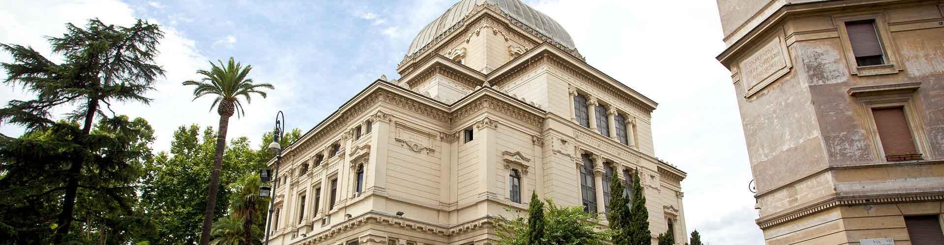 Rome - Auberges de jeunesse près de Grande Synagogue de Rome. Cartes pour Rome, photos et commentaires pour chaque auberge de jeunesse à Rome.