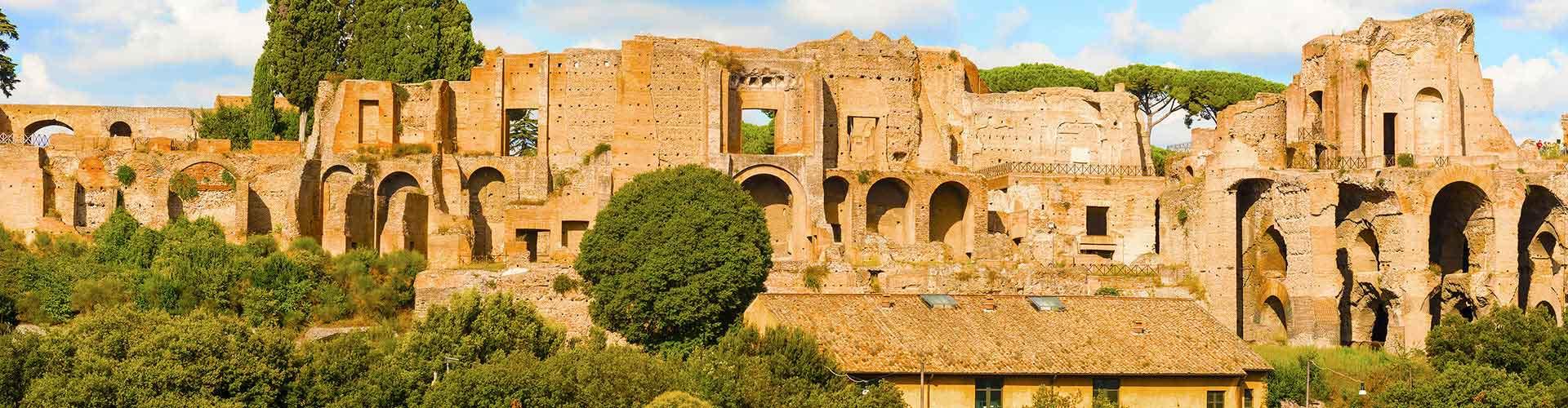 Rome - Auberges de jeunesse près de Mont Palatin. Cartes pour Rome, photos et commentaires pour chaque auberge de jeunesse à Rome.