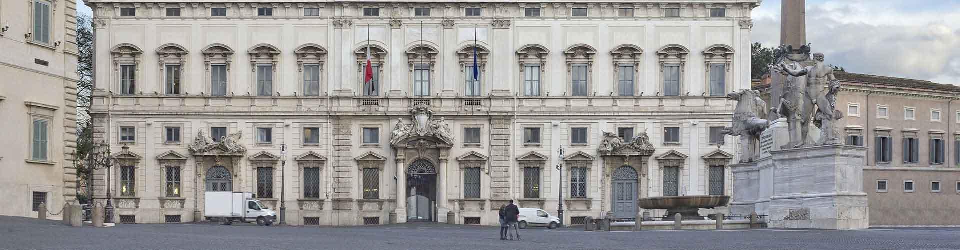Rome - Auberges de jeunesse près de Palais du Quirinal. Cartes pour Rome, photos et commentaires pour chaque auberge de jeunesse à Rome.