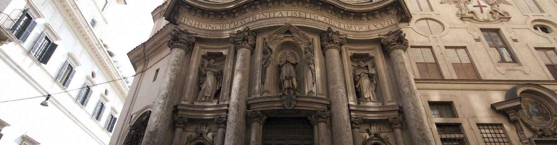 Rome - Auberges de jeunesse près de San Carlo alle Quattro Fontane. Cartes pour Rome, photos et commentaires pour chaque auberge de jeunesse à Rome.