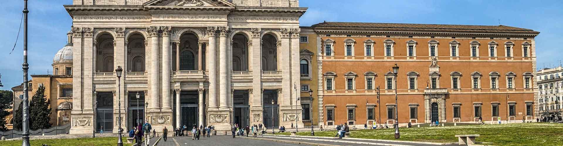 Rome - Auberges de jeunesse près de San Giovanni in Laterano. Cartes pour Rome, photos et commentaires pour chaque auberge de jeunesse à Rome.