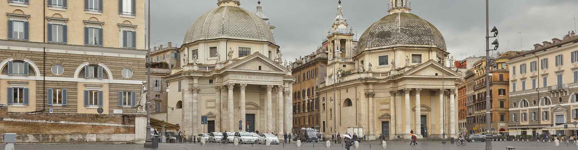 Rome - Auberges de jeunesse près de Santa Maria del Popolo. Cartes pour Rome, photos et commentaires pour chaque auberge de jeunesse à Rome.