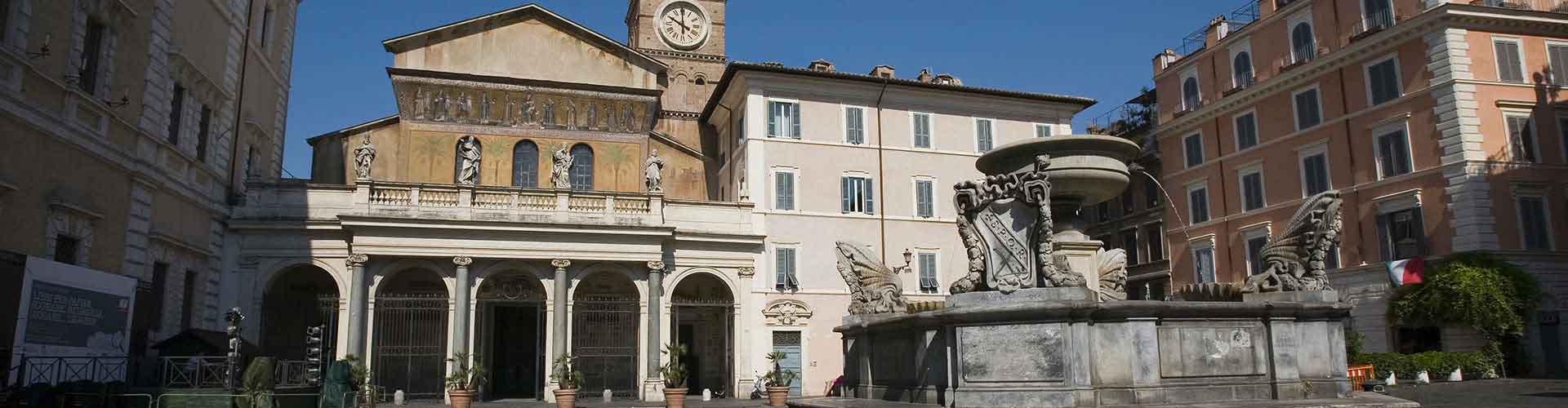 Rome - Auberges de jeunesse près de Santa Maria in Trastevere. Cartes pour Rome, photos et commentaires pour chaque auberge de jeunesse à Rome.