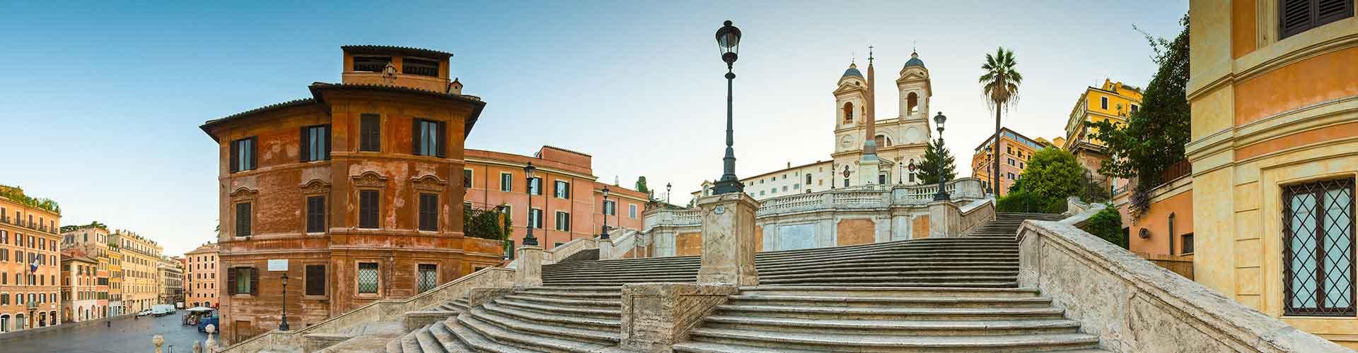 Rome - Auberges de jeunesse près de Spanish Steps. Cartes pour Rome, photos et commentaires pour chaque auberge de jeunesse à Rome.