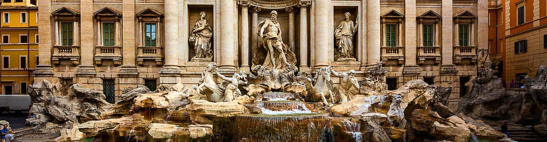 Rome - Auberges de jeunesse près de Fontaine de Trevi. Cartes pour Rome, photos et commentaires pour chaque auberge de jeunesse à Rome.