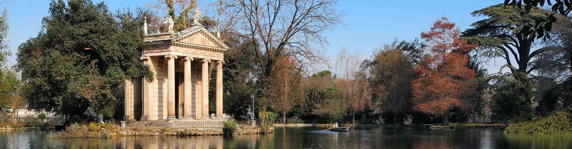 Rome - Auberges de jeunesse près de Villa Borghese. Cartes pour Rome, photos et commentaires pour chaque auberge de jeunesse à Rome.
