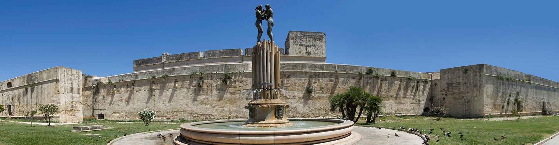 Lecce - Hôtels à Lecce. Cartes pour Lecce, photos et commentaires pour chaque hôtel à Lecce.