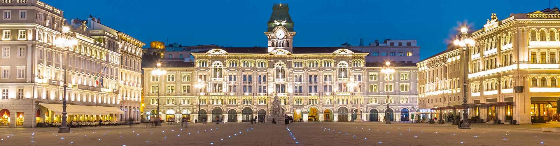 Trieste - Appartments à Trieste. Cartes pour Trieste, photos et commentaires pour chaque appartement à Trieste.