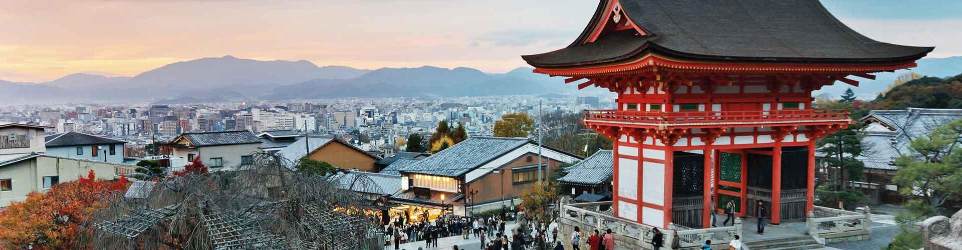 Kyoto - Auberges de jeunesse à Kyoto. Cartes pour Kyoto, photos et commentaires pour chaque auberge de jeunesse à Kyoto.