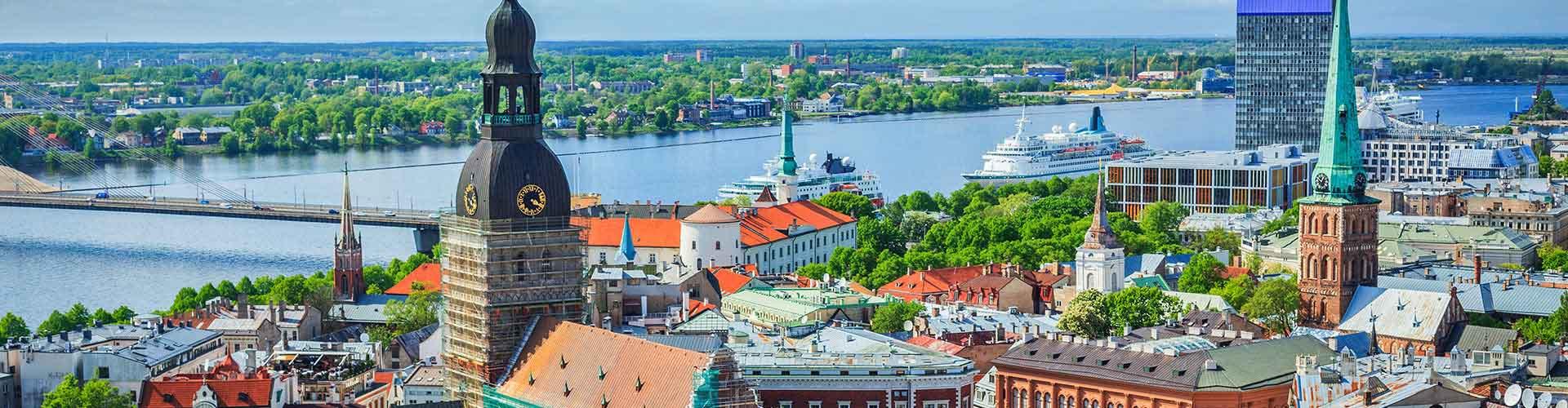 Riga - Chambres à Riga. Cartes pour Riga, photos et commentaires pour chaque chambre à Riga.