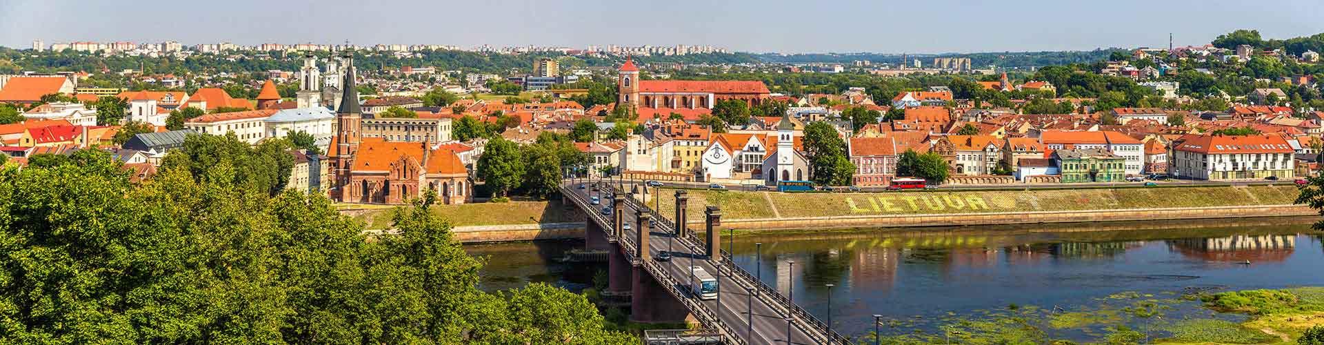 Kaunas - Auberges de jeunesse à Kaunas. Cartes pour Kaunas, photos et commentaires pour chaque auberge de jeunesse à Kaunas.