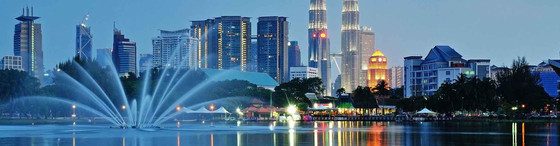 Kuala Lumpur - Hôtels dans le quartier de Brickfields. Cartes pour Kuala Lumpur, photos et commentaires pour chaque hôtel à Kuala Lumpur.
