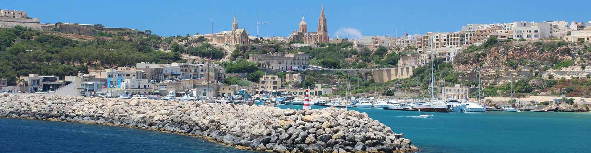Gozo - Auberges de jeunesse à Gozo. Cartes pour Gozo, photos et commentaires pour chaque auberge de jeunesse à Gozo.