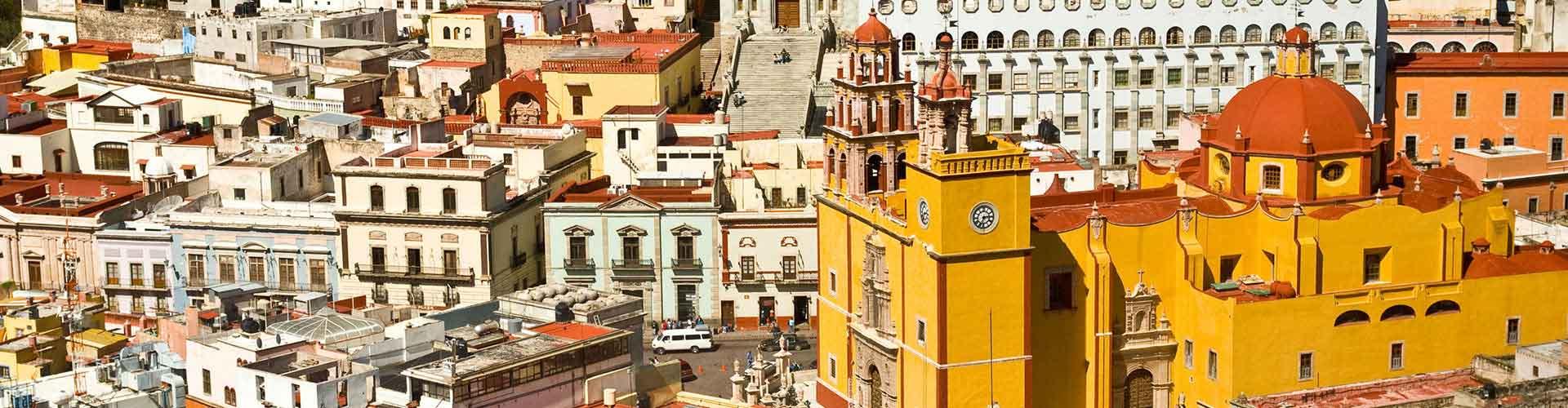 Guanajuato - Auberges de jeunesse et chambres pas chères à Guanajuato. Cartes de Guanajuato, photos et commentaires pour chaque Auberge de jeunesse et chambre pas chère à Guanajuato.