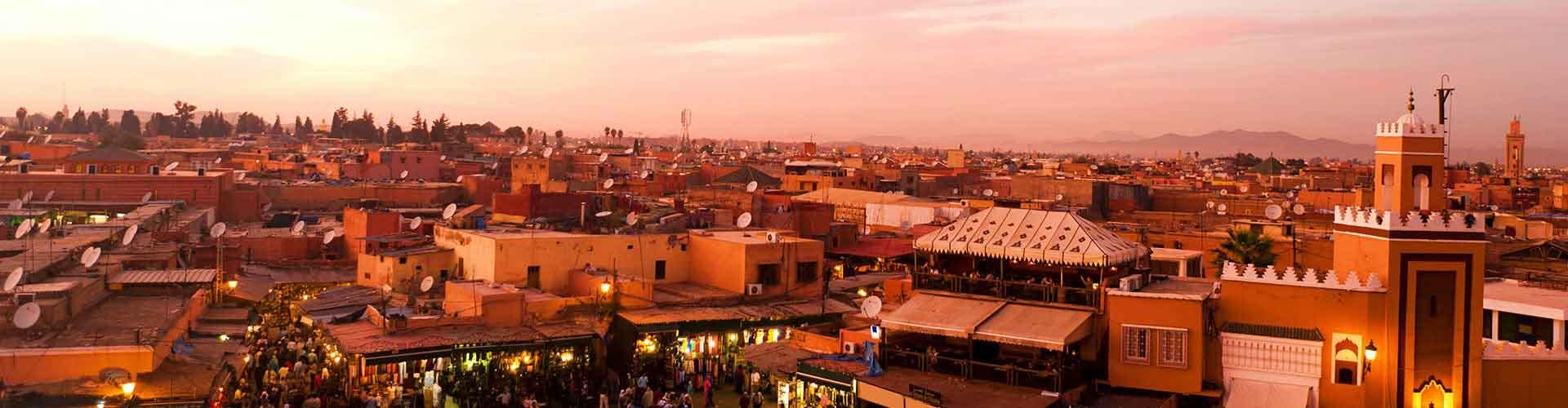 Marrakech - Auberges de jeunesse à Marrakech. Cartes pour Marrakech, photos et commentaires pour chaque auberge de jeunesse à Marrakech.