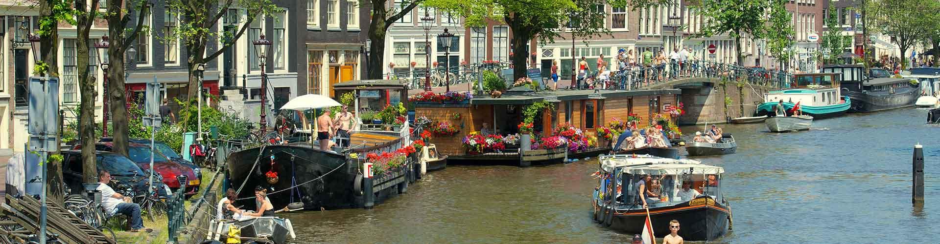 Amsterdam - Chambres pas chères dans le quartier de Amsterdam Centrum. Cartes pour Amsterdam, photos et commentaires pour chaque chambre à Amsterdam.