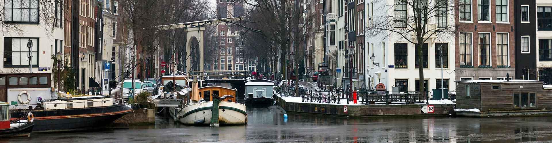 Amsterdam - Auberges de jeunesse dans le quartier de Amsterdam Oud Zuid. Cartes pour Amsterdam, photos et commentaires pour chaque auberge de jeunesse à Amsterdam.