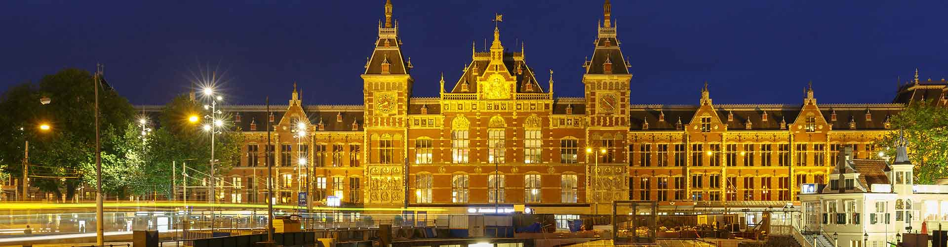Amsterdam - Camping près de Amsterdam Centraal railway station. Cartes pour Amsterdam, photos et commentaires pour chaque camping à Amsterdam.