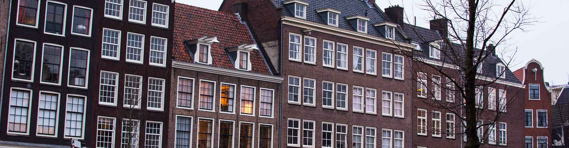 Amsterdam - Auberges de jeunesse près de Anne Frank House. Cartes pour Amsterdam, photos et commentaires pour chaque auberge de jeunesse à Amsterdam.