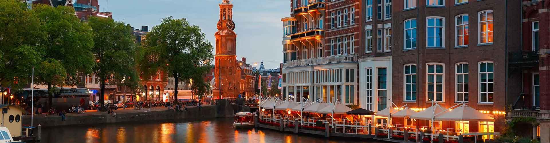 Amsterdam - Auberges de jeunesse près de Munttoren. Cartes pour Amsterdam, photos et commentaires pour chaque auberge de jeunesse à Amsterdam.