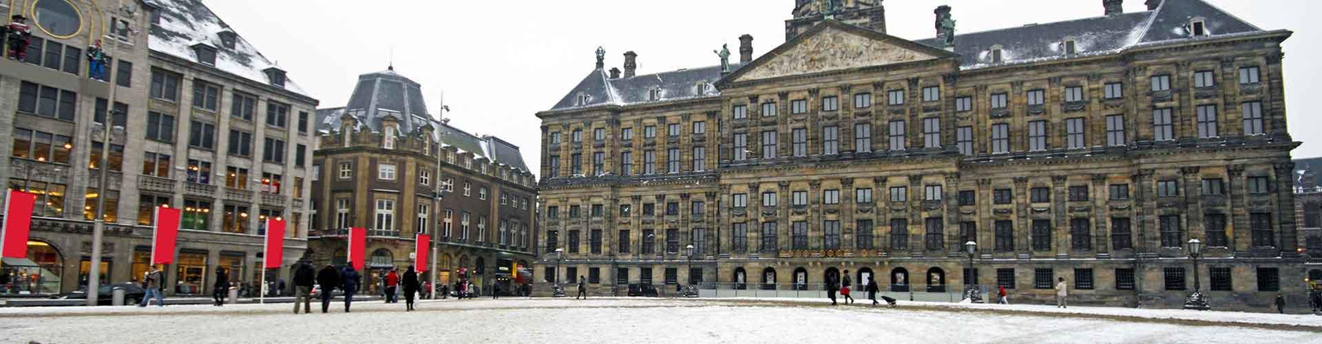 Amsterdam - Appartements près de Palais Royal. Cartes pour Amsterdam, photos et commentaires pour chaque appartement à Amsterdam.