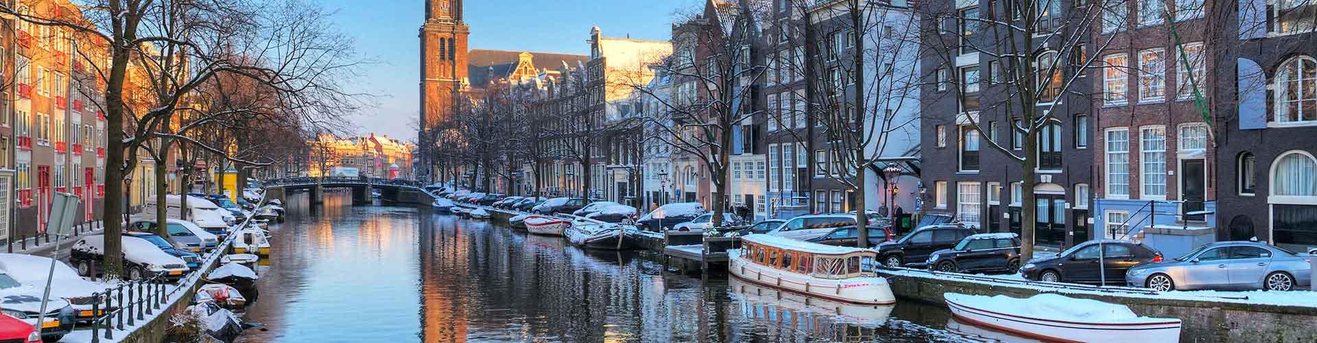 Amsterdam - Camping près de Westerkerk. Cartes pour Amsterdam, photos et commentaires pour chaque camping à Amsterdam.