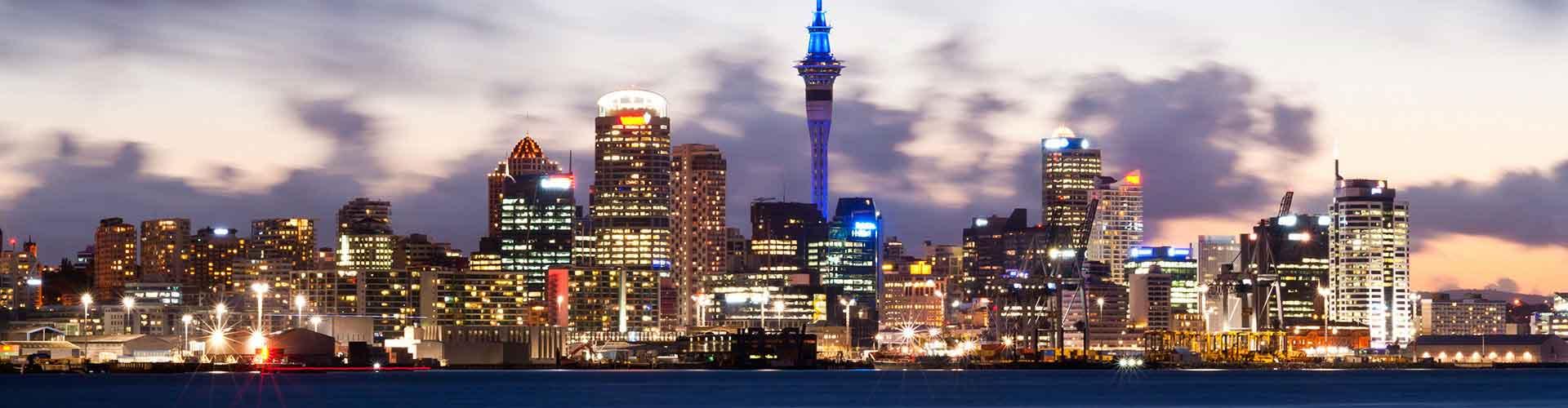 Auckland - Camping près de City Center. Cartes pour Auckland, photos et commentaires pour chaque camping à Auckland.