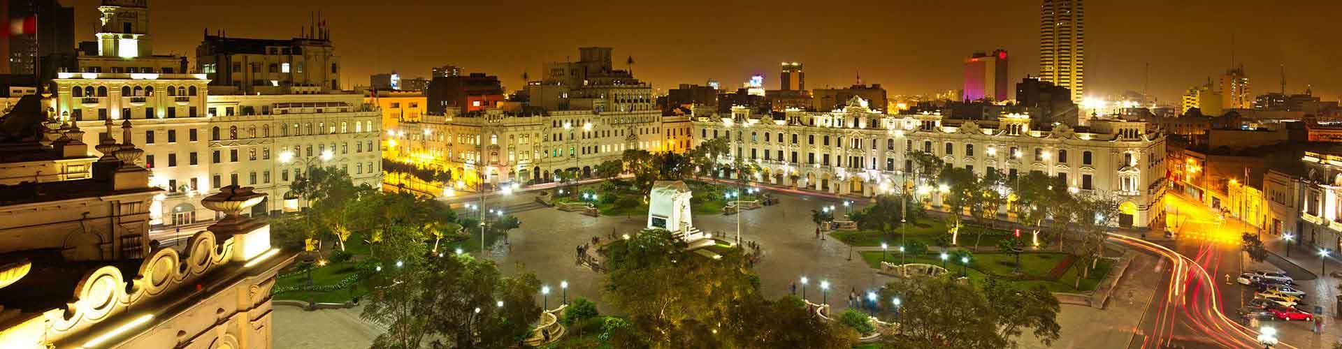 Lima - Hôtels à Lima. Cartes pour Lima, photos et commentaires pour chaque hôtel à Lima.