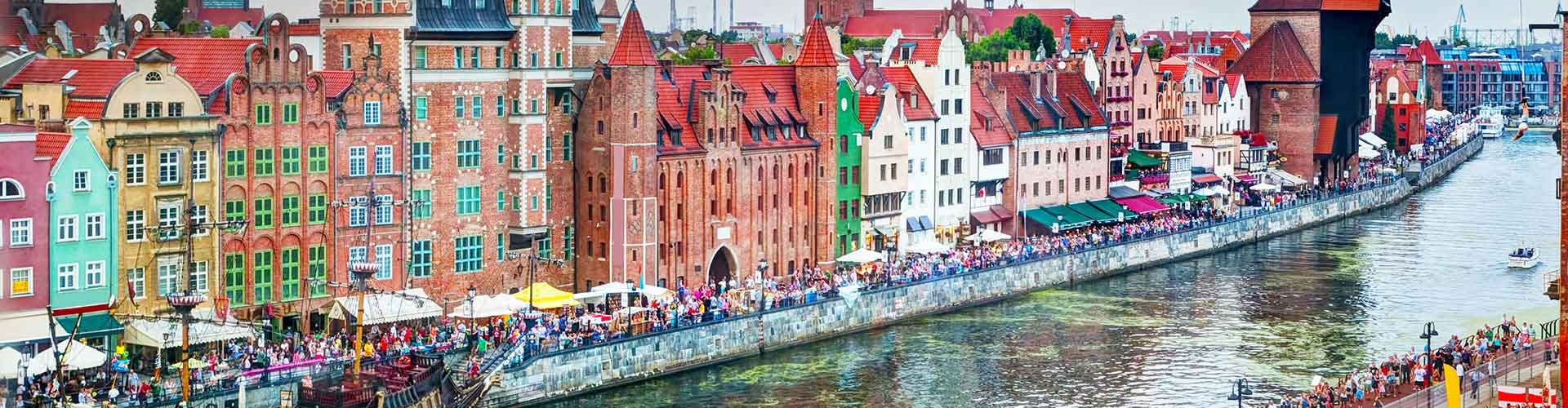 Gdansk - Appartments à Gdansk. Cartes pour Gdansk, photos et commentaires pour chaque appartement à Gdansk.
