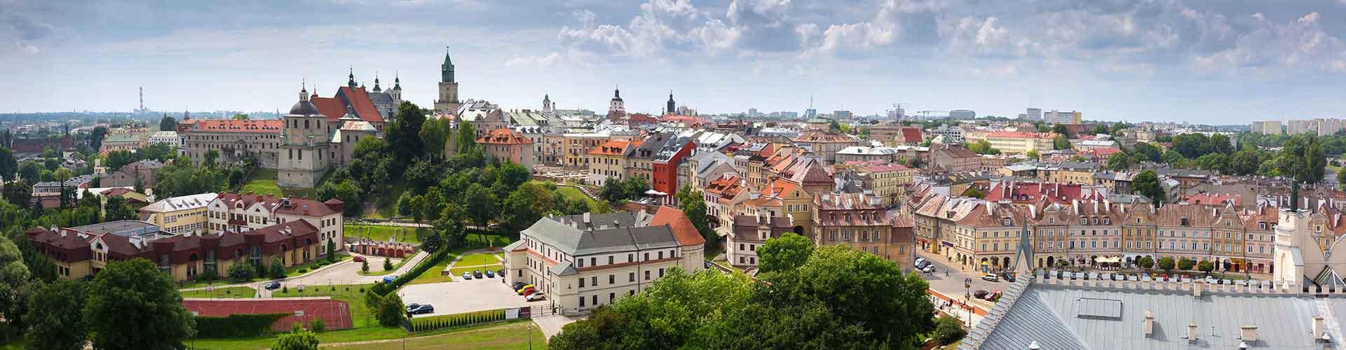 Lublin - Hôtels à Lublin. Cartes pour Lublin, photos et commentaires pour chaque hôtel à Lublin.