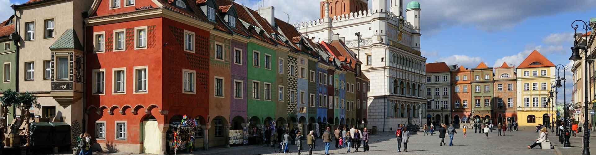 Poznan - Auberges de jeunesse à Poznan. Cartes pour Poznan, photos et commentaires pour chaque auberge de jeunesse à Poznan.