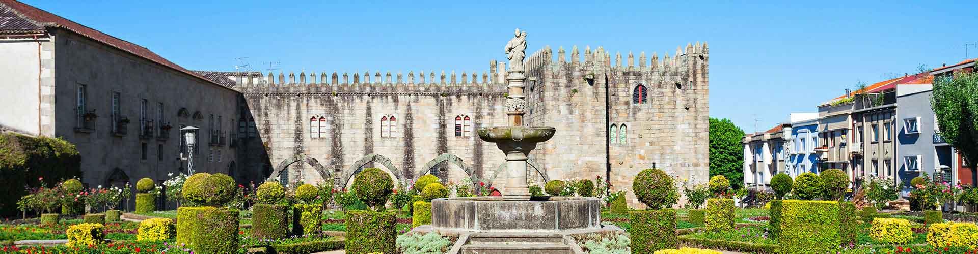 Braga - Hôtels à Braga. Cartes pour Braga, photos et commentaires pour chaque hôtel à Braga.