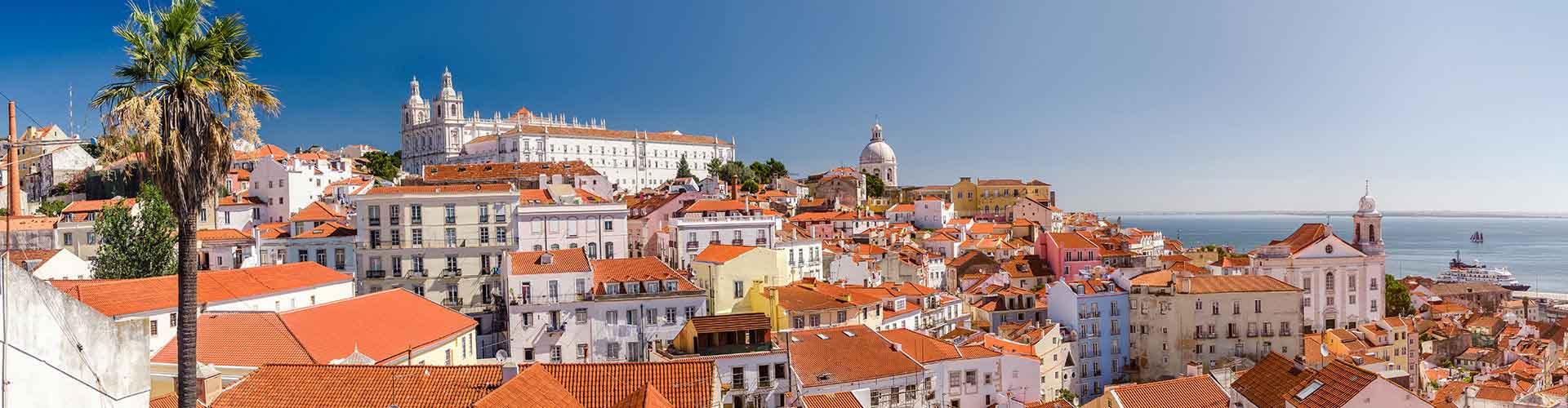 Lisbonne - Chambres pas chères dans le quartier de Alfama. Cartes pour Lisbonne, photos et commentaires pour chaque chambre à Lisbonne.