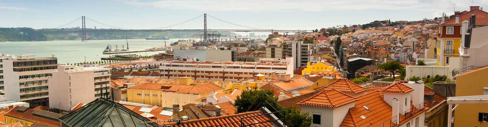 Lisbonne - Auberges de jeunesse dans le quartier de Bairro Alto. Cartes pour Lisbonne, photos et commentaires pour chaque auberge de jeunesse à Lisbonne.
