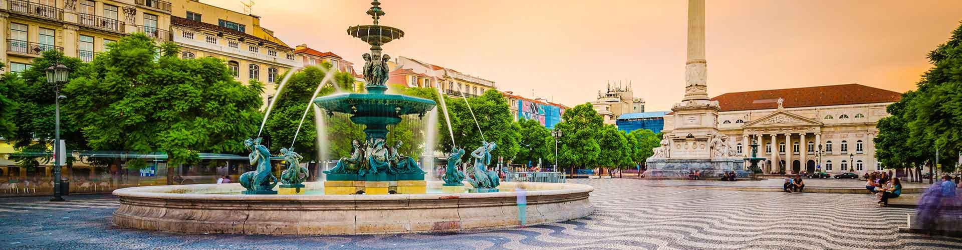 Lisbonne - Camping dans le quartier de Baixa. Cartes pour Lisbonne, photos et commentaires pour chaque camping à Lisbonne.