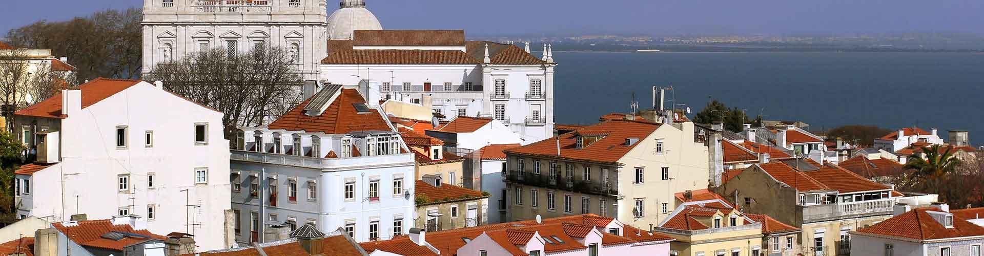 Lisbonne - Camping dans le quartier de Centre. Cartes pour Lisbonne, photos et commentaires pour chaque camping à Lisbonne.