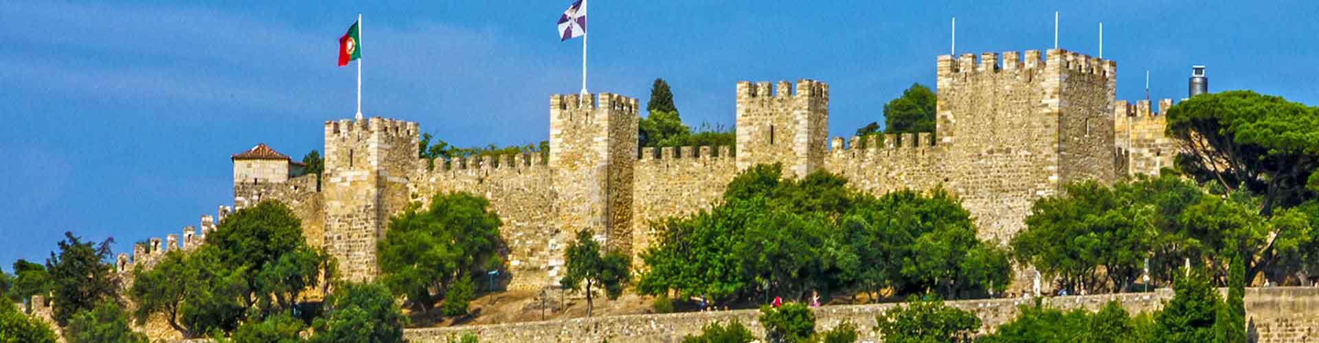 Lisbonne - Chambres près de Château de São Jorge. Cartes pour Lisbonne, photos et commentaires pour chaque chambre à Lisbonne.