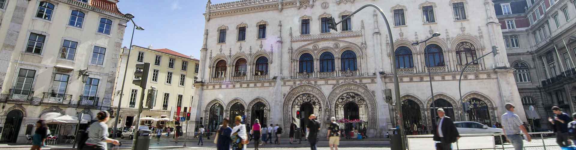 Lisbonne - Appartements près de Gare de Rossio. Cartes pour Lisbonne, photos et commentaires pour chaque appartement à Lisbonne.