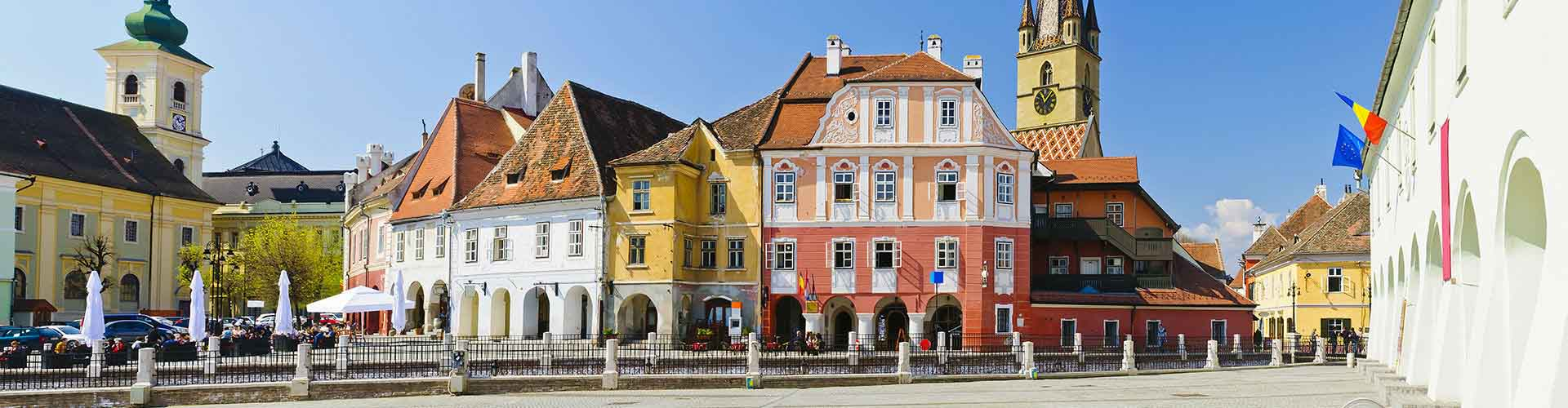 Sibiu - Chambres à Sibiu. Cartes pour Sibiu, photos et commentaires pour chaque chambre à Sibiu.