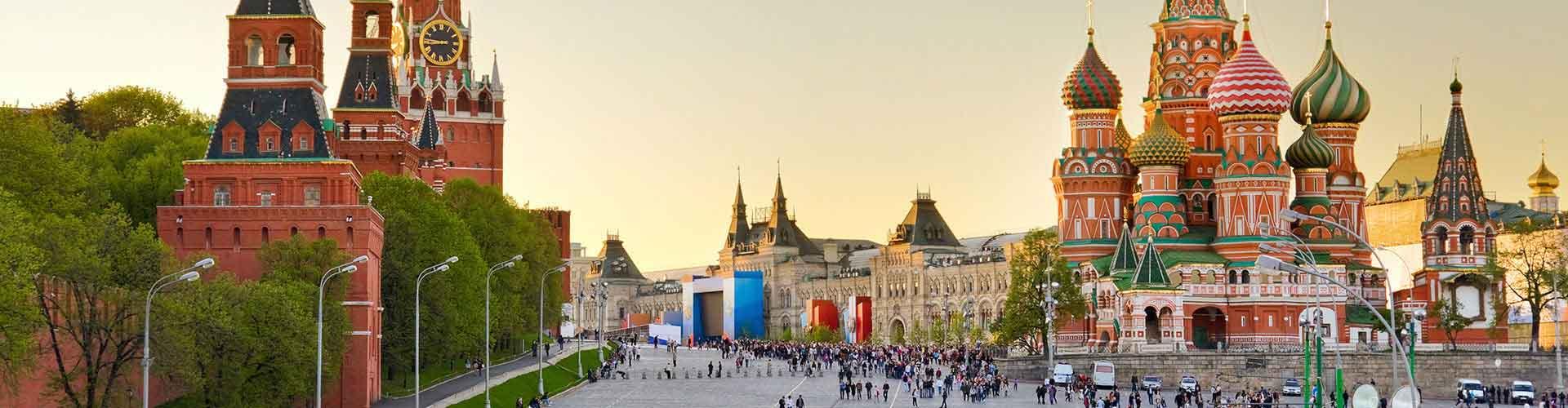 Moscou - Auberges de jeunesse près de Gare de Kiyevsky. Cartes pour Moscou, photos et commentaires pour chaque auberge de jeunesse à Moscou.