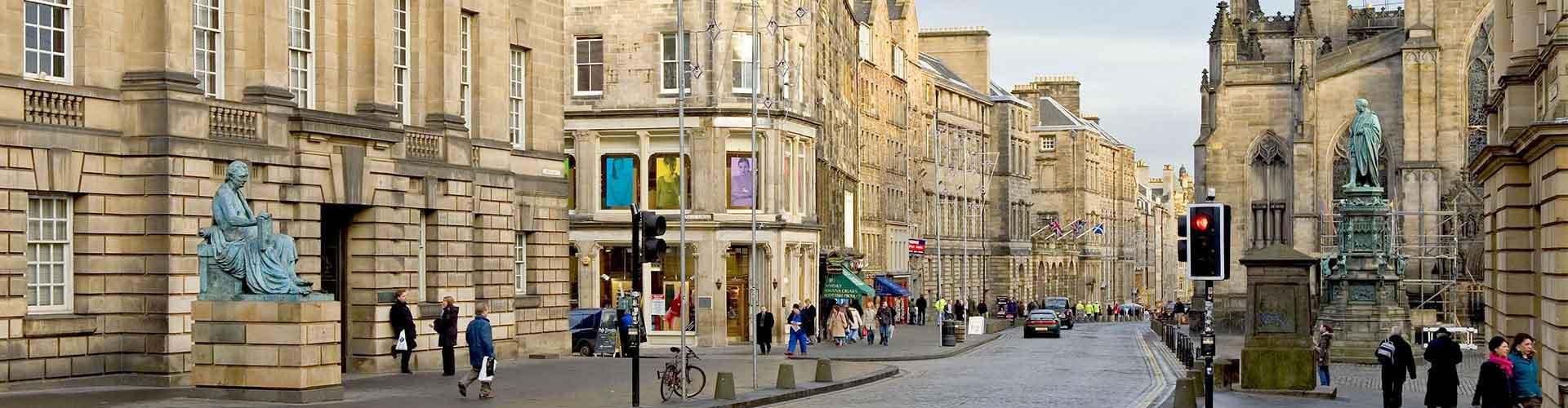 Edimbourg - Chambres pas chères dans le quartier de The High Street. Cartes pour Edimbourg, photos et commentaires pour chaque chambre à Edimbourg.