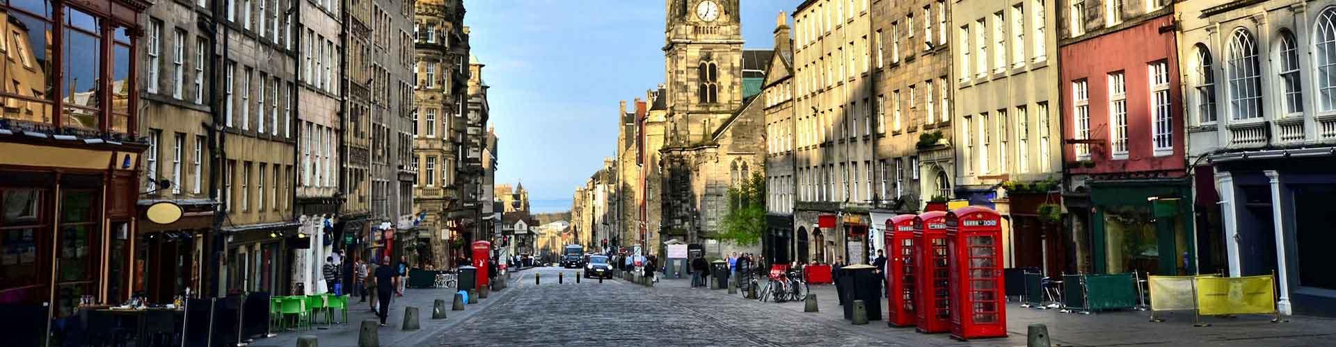 Edimbourg - Chambres pas chères dans le quartier de The Royal Mile. Cartes pour Edimbourg, photos et commentaires pour chaque chambre à Edimbourg.