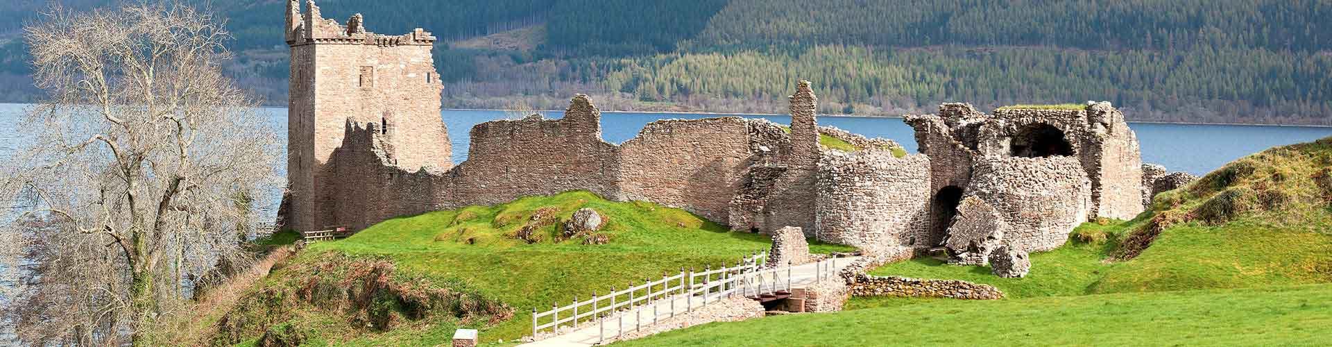 Loch Ness - Camping à Loch Ness. Cartes pour Loch Ness, photos et commentaires pour chaque Camping à Loch Ness.