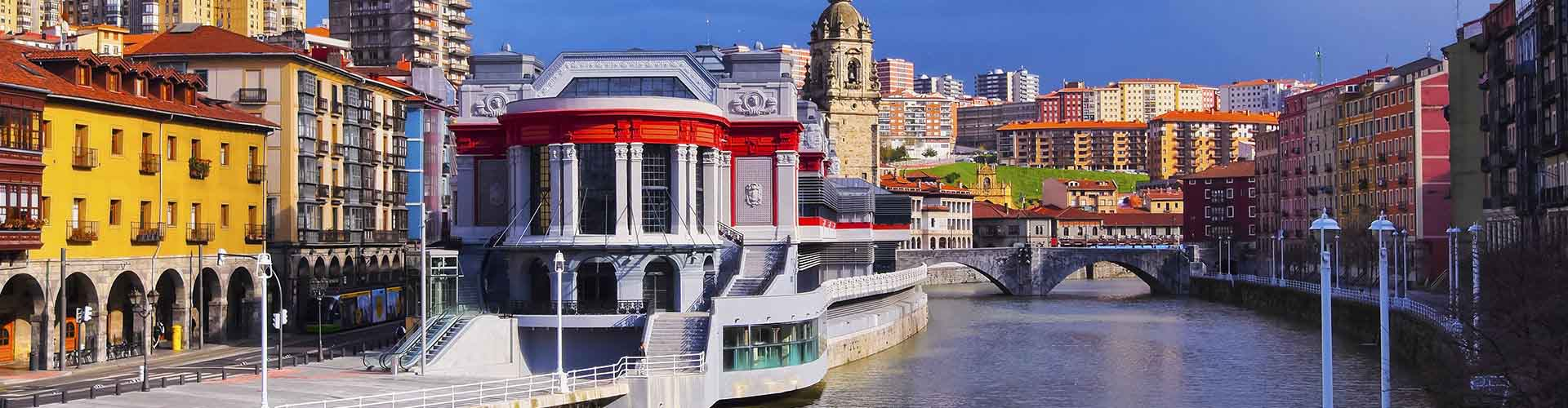 Bilbao - Appartements dans le quartier de Abando. Cartes pour Bilbao, photos et commentaires pour chaque appartement à Bilbao.