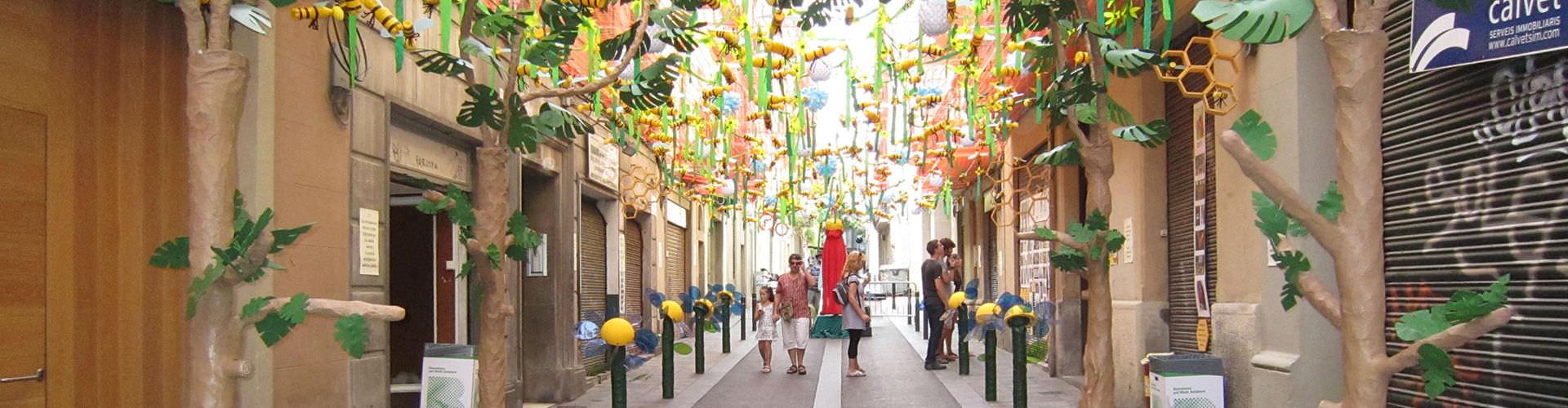 Barcelone - Chambres pas chères dans le quartier de Gràcia. Cartes pour Barcelone, photos et commentaires pour chaque chambre à Barcelone.