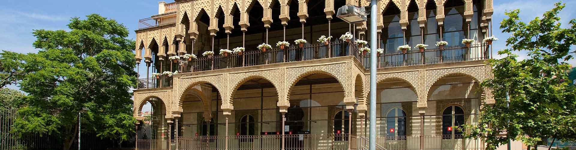 Barcelone - Auberges de jeunesse dans le quartier de Horta-Guinardò. Cartes pour Barcelone, photos et commentaires pour chaque auberge de jeunesse à Barcelone.