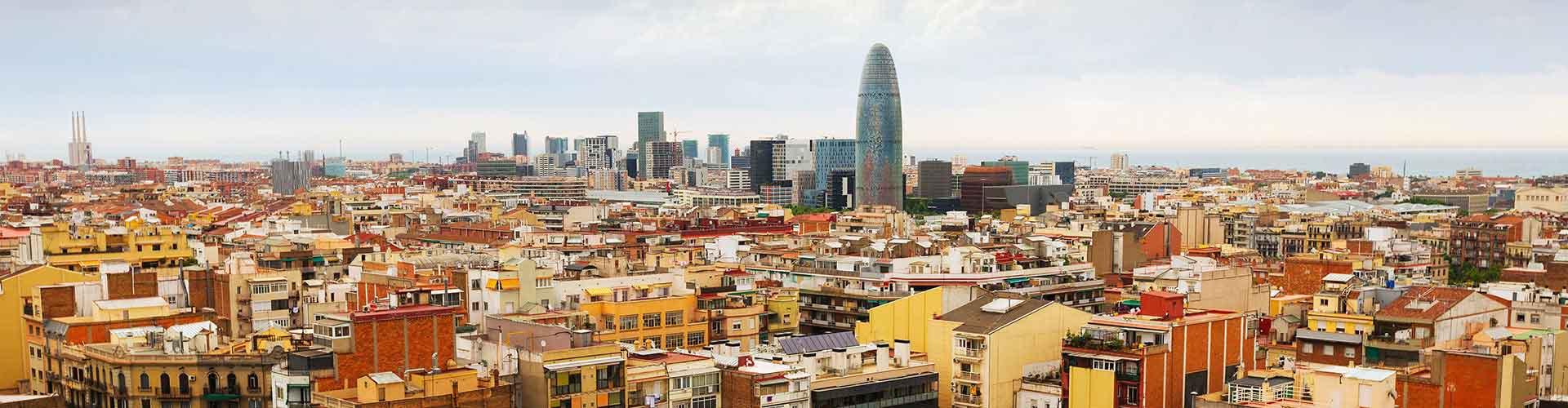 Barcelone - Camping dans le quartier de Sagrada Família. Cartes pour Barcelone, photos et commentaires pour chaque camping à Barcelone.