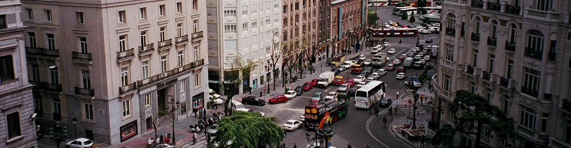 Madrid - Chambres pas chères dans le quartier de Cortes. Cartes pour Madrid, photos et commentaires pour chaque chambre à Madrid.