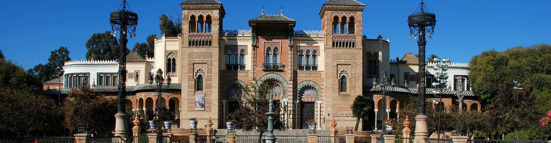 Seville - Auberges de jeunesse dans le quartier de Museo. Cartes pour Seville, photos et commentaires pour chaque auberge de jeunesse à Seville.